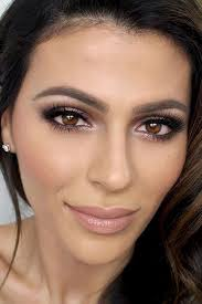 advice makeup for brown eyes