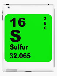 Sulfur Periodic Table of Elements