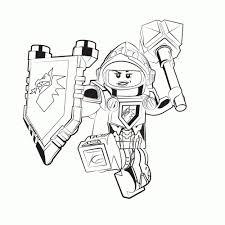25 Printen Legonexo Knights Kleurplaat Mandala Kleurplaat Voor