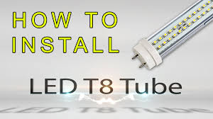 how to install led t8 tube youtube Led T8 Hybrid Series Wiring Diagram With Out A Ballast Led T8 Hybrid Series Wiring Diagram With Out A Ballast #33