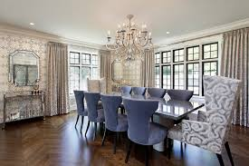 arm chair dining room armchair dining room on trend blue color wingback chair deentight creative