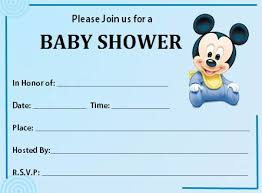 Free Printable Baby Mickey Mouse Invitations Free Printable Baby Shower Invitations Dolanpedia Invitations Template