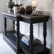 black console table. Black Console Table