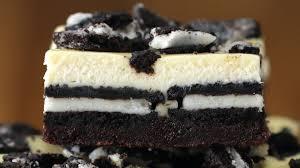 cookies cream brownie cheesecake bars