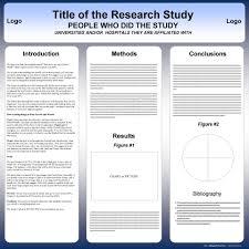 Scientific Poster Template Portrait Free Powerpoint Scientific Research Poster Templates For
