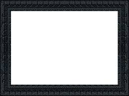 png black picture frame image page design reviews png library