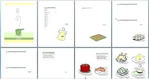 Homemade Cookbook Template Free Online Cookbook Template