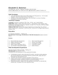 Content Management System Developer Resume New Resume Web Developer