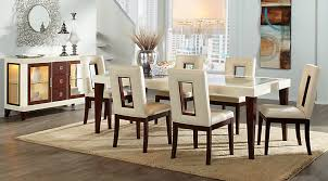 5 rooms to go dining chairs affordable rectangle dining room sets rooms to go furniture