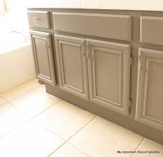Painted Oak Cabinets How To Paint Oak Cabinets Cabinets Painted Bathrooms And Tutorials