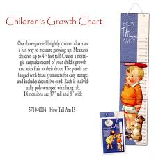 5710 4004 Childrens Growth Chart