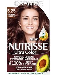 Garnier Color Naturals Shades Chart Garnier Nutrisse 5 25 Ultra Chestnut Brown Permanent Hair Dye
