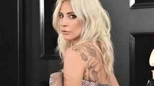 Lady Gaga Gets La Vie En Rose Back Tattoo Tribute To A Star Is