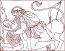 Картинки мифы древней греции раскраска