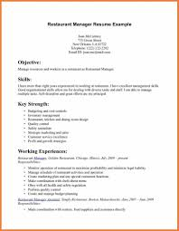 Remarkable Server Resume Skills 7 Food Service Waitress Waiter