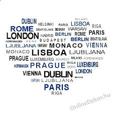 wall sticker wall tattoo wall decoration wall decal name texts city names 2008