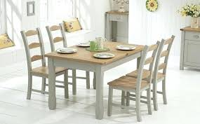 kitchen table and chairs with wheels painted dining table sets