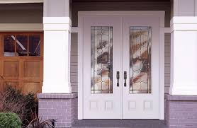 exterior double doors lowes. Top Exterior Double Doors Lowes With Feather River Door Fiberglass Entry Smooth White D