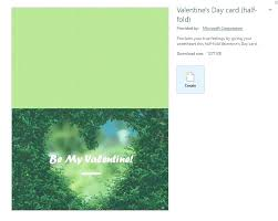 Half Fold Card Template Word A Screenshot Of The Word Valentines Day Half Fold Card