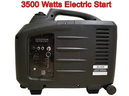electric generator. Electric Key Start DG-3500 Digital Generator Inverter C
