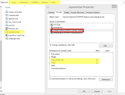 How To Deploy Signatures With Gpo For Outlook 2013 It Programming