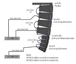al 8 al 4 combo system diagram vue audiotechnik