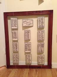 Windows At Bally S Seating Chart Rustic Seating Chart Frame Twine And Card Stock Marry