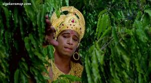 Image result for hanumana entering ashoka
