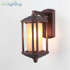 antique outdoor lamp garden lights waterproof lighting outdoor wall light home garden corridor decor wall lights