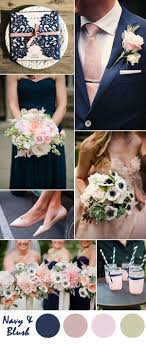 ten most gorgeous navy blue wedding color palette ideas for 2016 Wedding Colors Navy And Pink navy blue and blush pink wedding color inspiration wedding colors navy blue and pink
