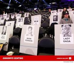 Bts Seating Chart Grammys Seating Lady Gaga And Katy Perry Up Front Bts Next