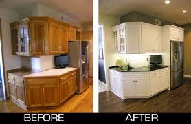 A Tale Of Painting Oak Cabinets Practicallyspoiled Com Refinish Oak