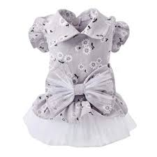 Amazon Com Pandada Small Dog Girl Dress Lace Tutu Vest