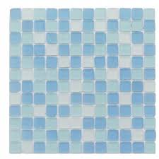 splashback tile ocean wave beached frosted glass mosaic tile 3 in x 6 in