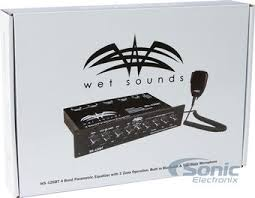 wet sounds 4 band parametric marine bluetooth eq w mounting bracket product wet sounds ws 420 bt mounting harware package