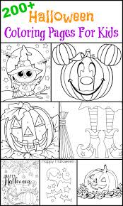 It will be the best kids and halloween, that you colored ever! 200 Free Halloween Coloring Pages For Kids The Suburban Mom