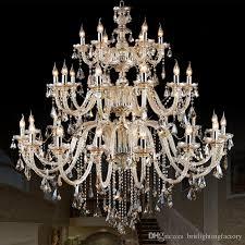 living room crystal chandelier european atmosphere bedroom restaurant chandelier simple modern candle crystal light luxury hall lamps small chandeliers