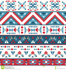Navajo Pattern Delectable Seamless Colorful Navajo Pattern Stock Vector Illustration Of