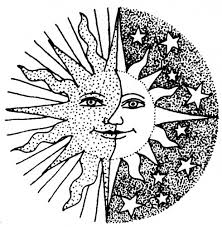 Small Picture Sun and Moon Coloring Pages Bing Images Coloring more