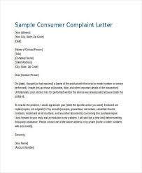 complaint letter examples example complaint letter 12 complaint letter templates free