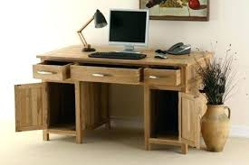 oak desks for home office. Oak Desks For Home Office S Solid Wood Corner Desk