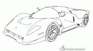 Kleurplaten Van Een Ferrari
