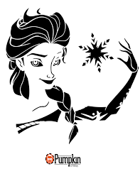 Ariel Pumpkin Carving Pattern Frozen Pumpkin Stencil Disney Pumpkin Patterns Pinterest