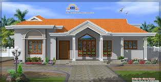 imposing design single home designs single floor house elevation kerala home design
