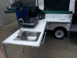 Camping Kitchen Portable Outdoor Sink Garden Camp Kitchen Camping Rv New For