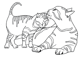 Cat Coloring Pages To Print Cat Coloring Pages To Print Free