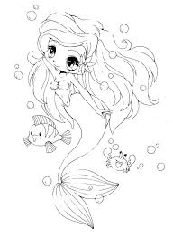 Printable Mermaid Coloring Pages Little Mermaid Coloring Pages