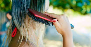 how to clean a hairbrush step by step