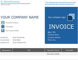 microsoft invoices order invoice with microsoft invoicing
