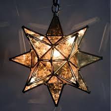moravian star pendant light antique glass dark trim moravian star pendant light conversion kit